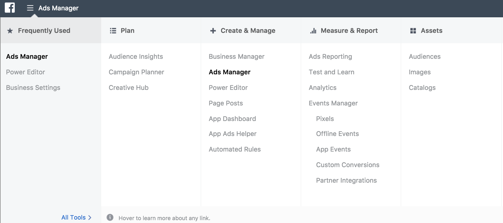 Facebook Audience Insights Business Manager