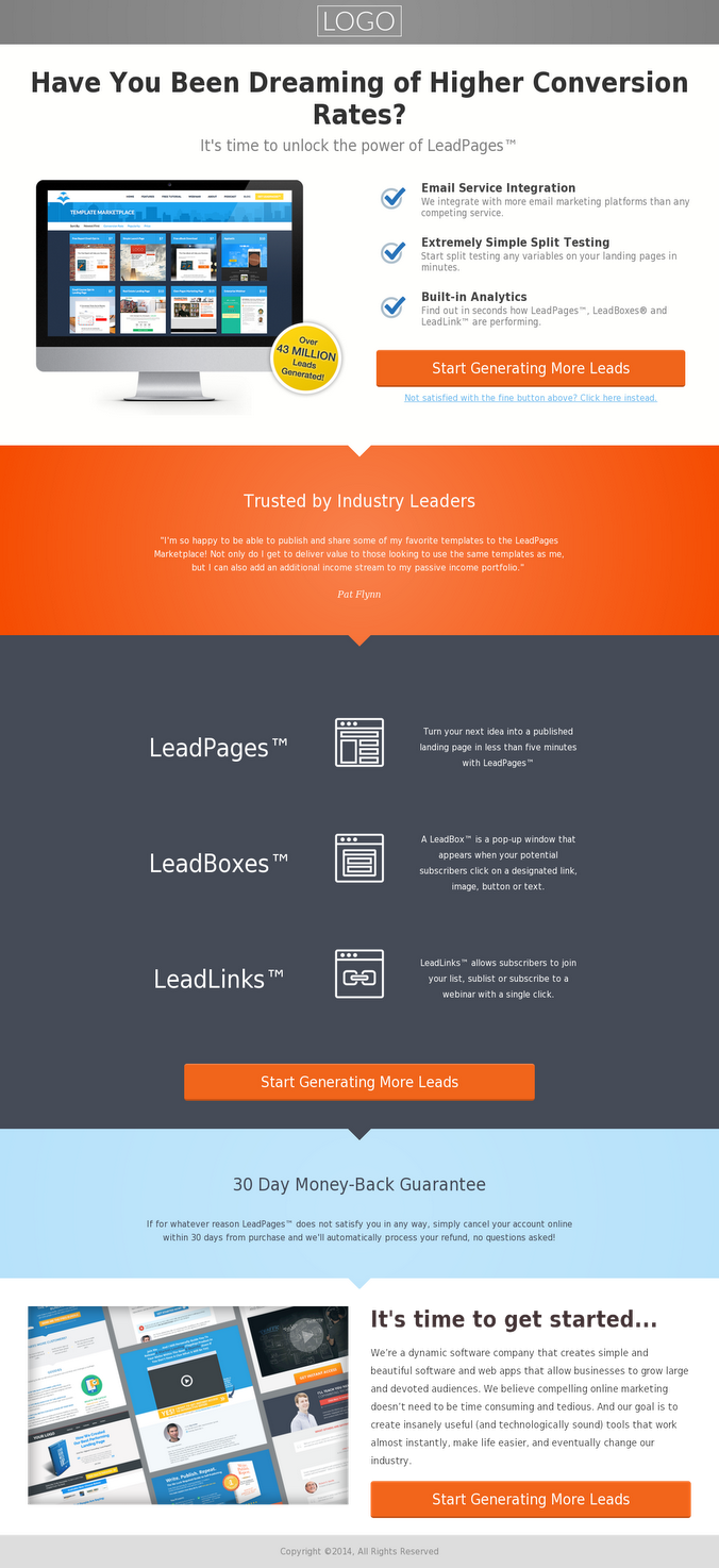 5 Types Of Landing Pages Every Small Business Owner Needs ...
