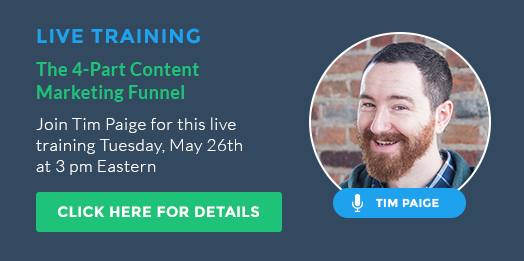 Content Marketing Funnel Webinar