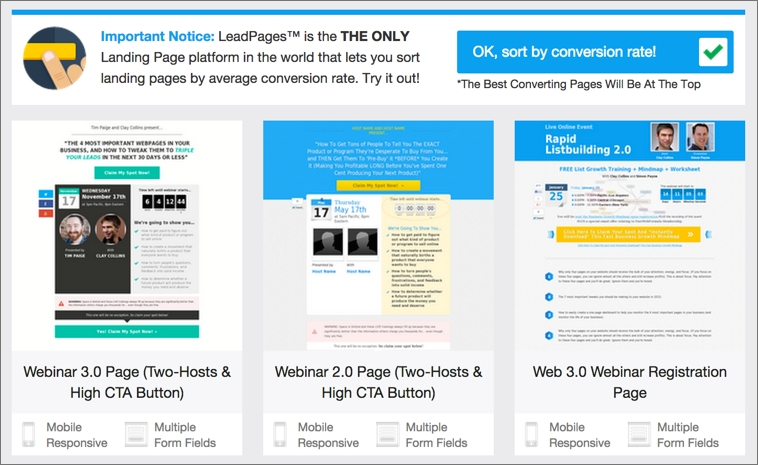 Landing Page Trend #9