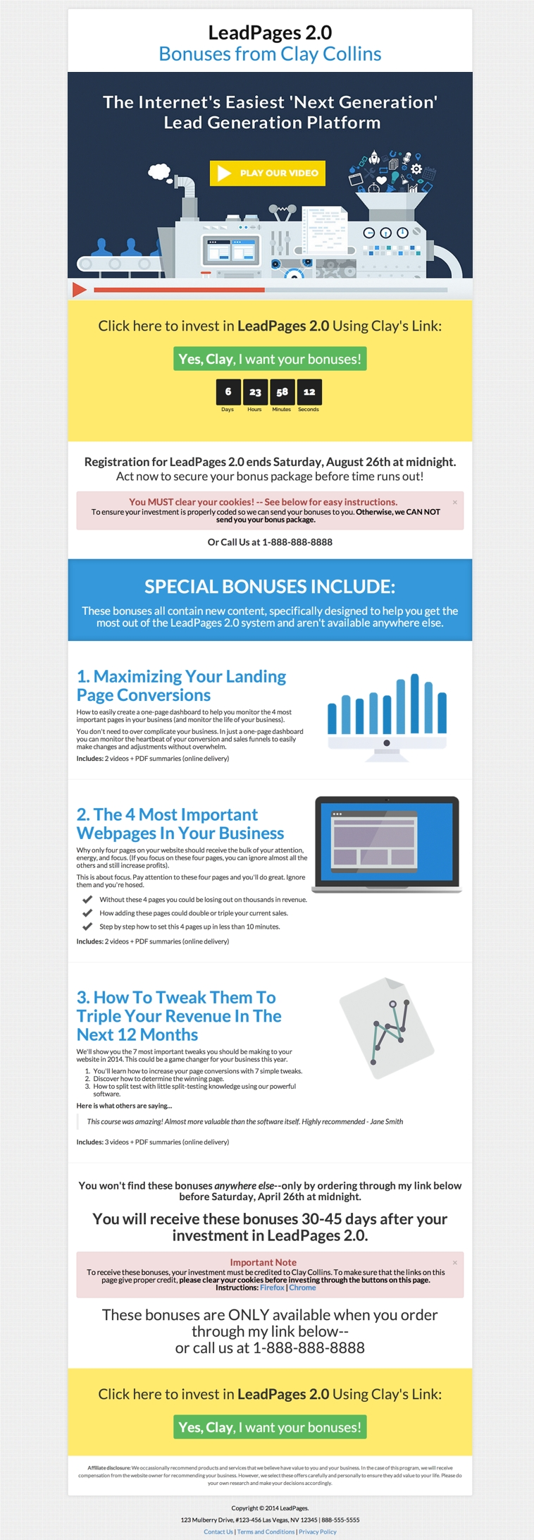 the past month 39 s best new leadpages marketplace landing page templates. Black Bedroom Furniture Sets. Home Design Ideas