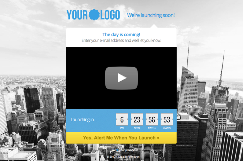 4 ways to kickstart lead generation with your coming soon landing page get your free coming soon landing page template now maxwellsz