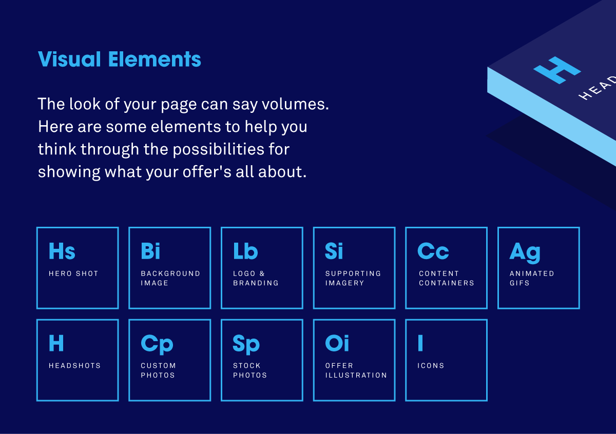 The periodic table of landing page elements and how to use them hero shot gamestrikefo Gallery