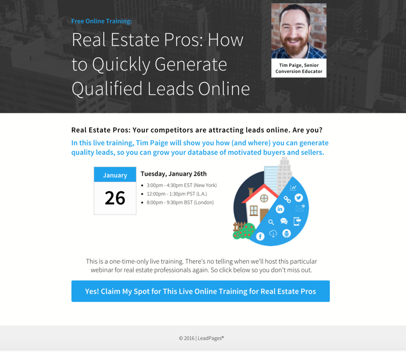 Some Ideas on Leadpages Real Estate You Need To Know
