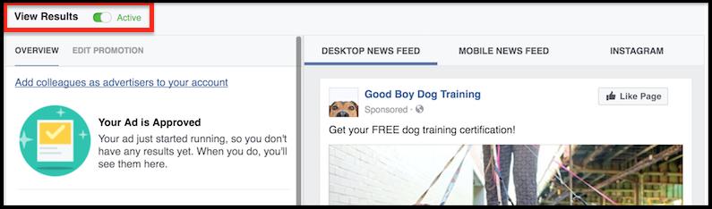 facebook ad shutoff
