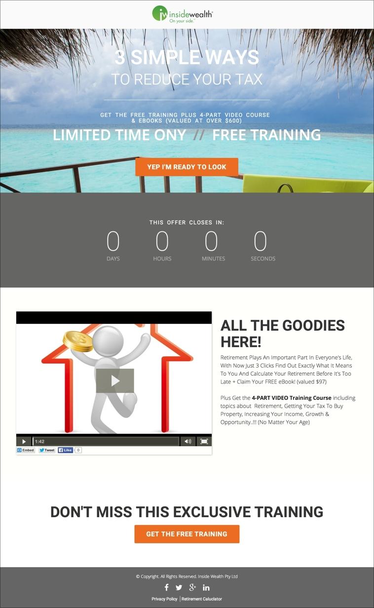 Modern Webinar Template
